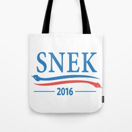 Snek for President 2016 Tote Bag