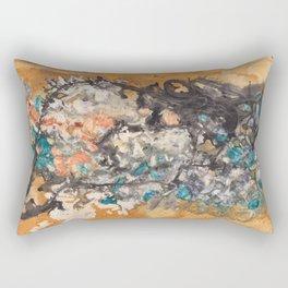 Tea Print #4 Rectangular Pillow