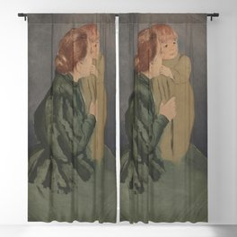 Mary Cassatt - Peasant Mother and Child Blackout Curtain