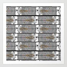 Martini Madness Art Print
