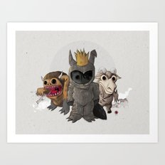 Wild Ones Art Print