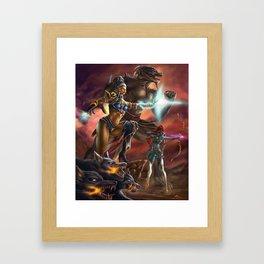 Transcendent Courage Framed Art Print