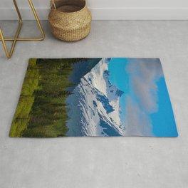 Bear Creek Mountain Glacier - Alaska Rug