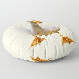 White Waddler Floor Pillow