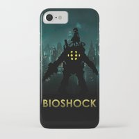 bioshock iPhone & iPod Cases featuring Bioshock by Pixel Design