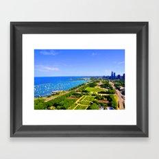 Grant Park Framed Art Print