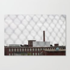 Over the Mills Canvas Print