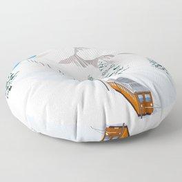 Zermatt Floor Pillow
