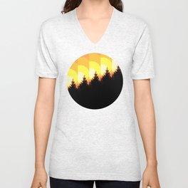 Rising Sun Unisex V-Neck