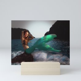 The Mermaid Mini Art Print