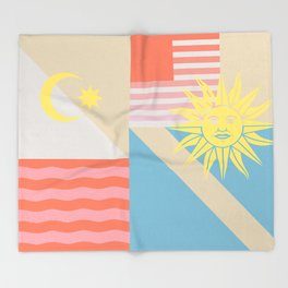 Sun & Sky Throw Blanket