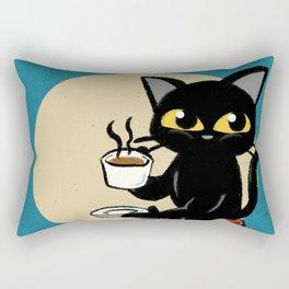 I love coffee Rectangular Pillow