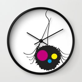 Spider Wall Clock