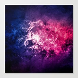 Nebula Space v6 Canvas Print