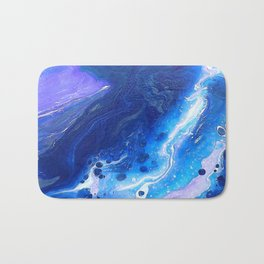 Grape Lakes Fluid Abstract Bath Mat
