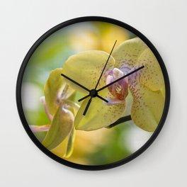 magic orchid Wall Clock