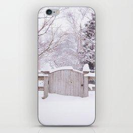 Snow Gate  iPhone Skin