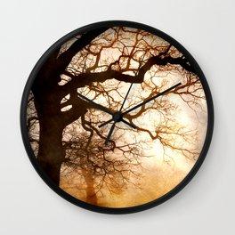 Lonely Walk Wall Clock