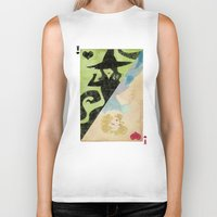 wicked Biker Tanks featuring Wicked by Serena Rocca