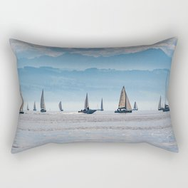 Sailboats (Lake Constance, Germany) Rectangular Pillow