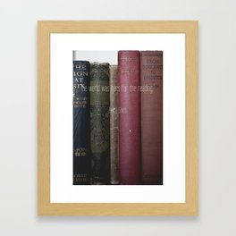 The World was Hers Framed Art Print