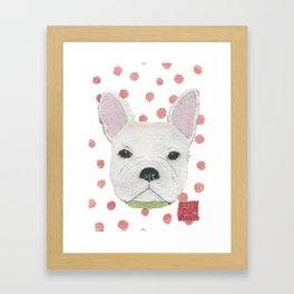 French Bulldog, FRENCHIE, Dog Framed Art Print