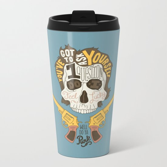 Do ya Punk? Metal Travel Mug