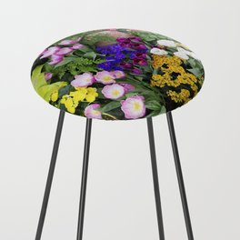 Floral Spectacular - Spring Flower Show Counter Stool