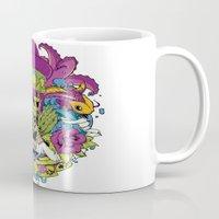 faith Mugs featuring Faith by Tshirt-Factory