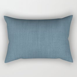 Blue Indigo Denim Rectangular Pillow