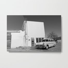 Country Sedan  Metal Print