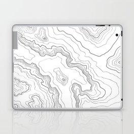 Topography map Laptop & iPad Skin