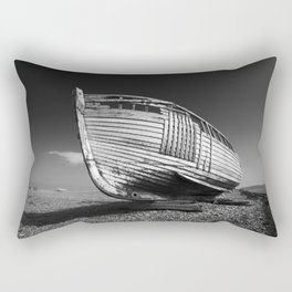 A Lonely Boat Rectangular Pillow