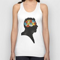 shaun of the dead Tank Tops featuring Shaun Phrenology by Wharton