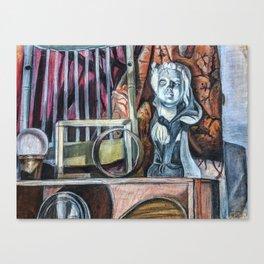 the attic Canvas Print