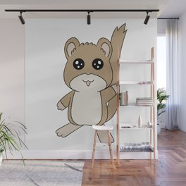 Snickerdoodle Wave Wall Mural