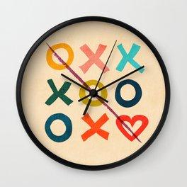 xoxo Love Wall Clock