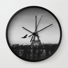 Eiffel Tower (Paris, France) Wall Clock