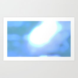 Fly:Glare Art Print