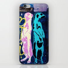 Meerkat Graffiti iPhone & iPod Skin