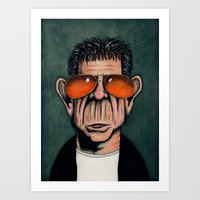 lou reed Art Prints featuring Lou Reed by Andres Denkberg