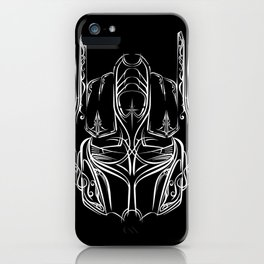 Pinstripe Prime iPhone Case