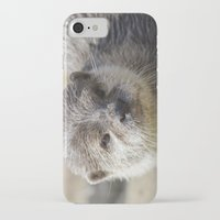 otter iPhone & iPod Cases featuring Otter by PICSL8