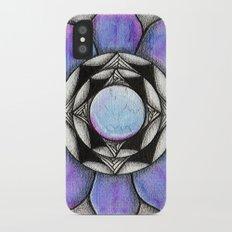 Doodled Gem Bloom iPhone X Slim Case