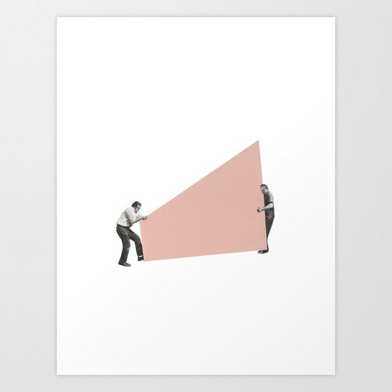 Shape Shifting Art Print