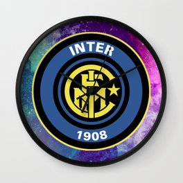 Inter Milan Galaxy Design Wall Clock