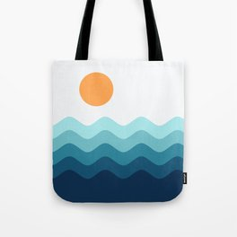 Abstract Landcape 14 Portrait Tote Bag