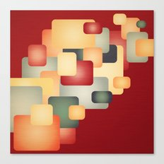 A Warm Retro Feeling. Canvas Print