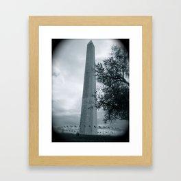 The Washington Monument Framed Art Print