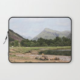 Here is realization - Glen Etive, Scotland Laptop Sleeve